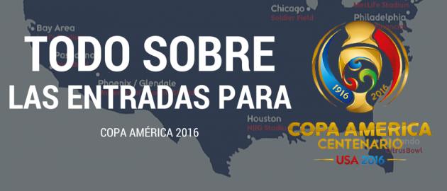 Entradas para la Copa América 2016, información y precios