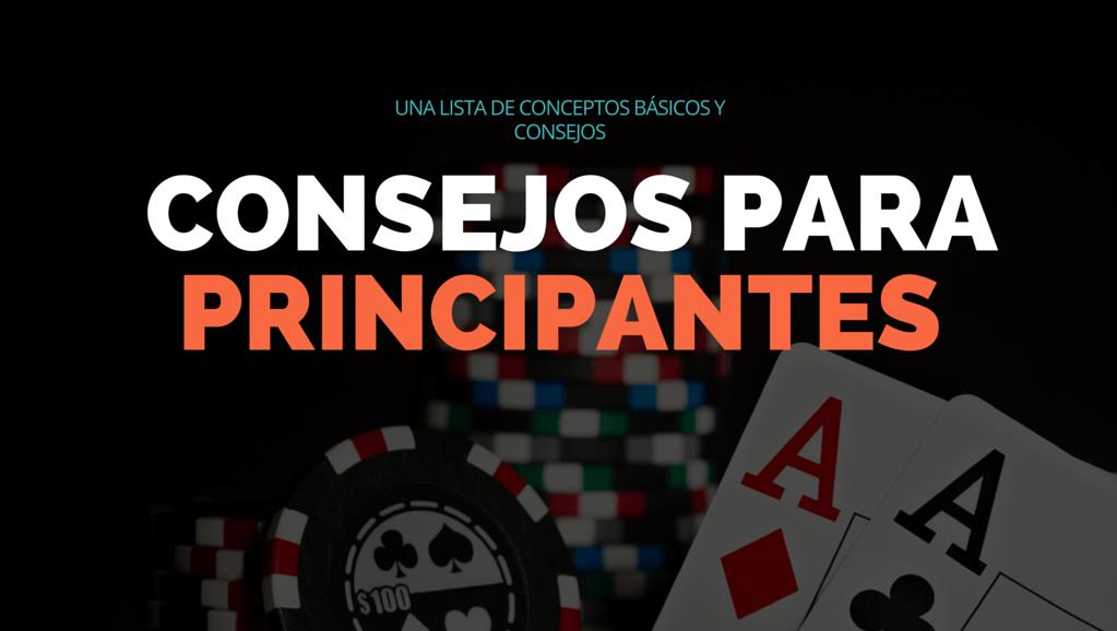 conceptos poker principiantes
