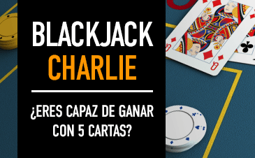 Blackjack Charlie 5 cartas