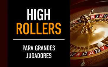 High Rollers ruleta