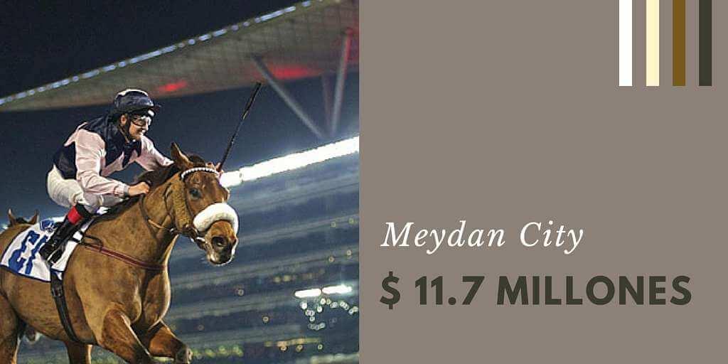 Meydan City11.7 millones