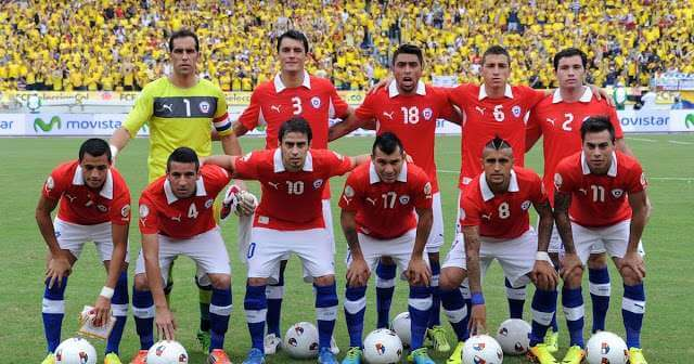 Chile Copa America 2016 Squad, Schedule, Kit, Live Stream