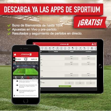 Apps Sportium
