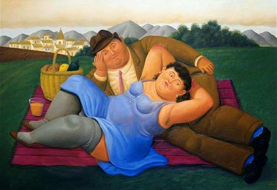 Botero, Picnic, 2001