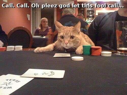 Call Igualar poker