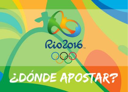 ¿Dónde apostar en los Juegos Olímpicos Rio 2016?