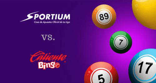 Sportium o Caliente Bingo: ¿Cuál es es mejor para jugar bingo en línea?