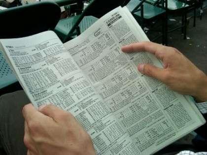 Cómo leer el programa de una carrera de caballos