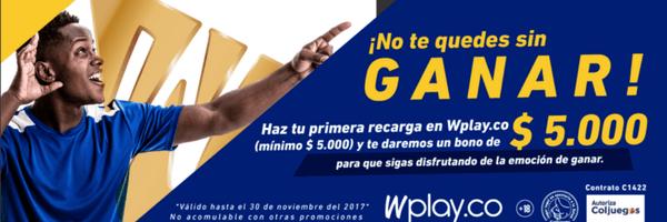 Wplay bono 5000 pesos