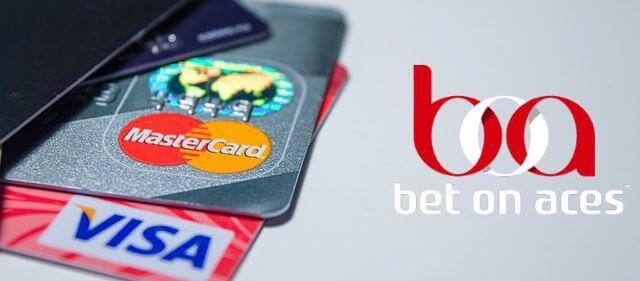 BetOnAces métodos de pago