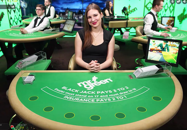 Mr Green casino en vivo
