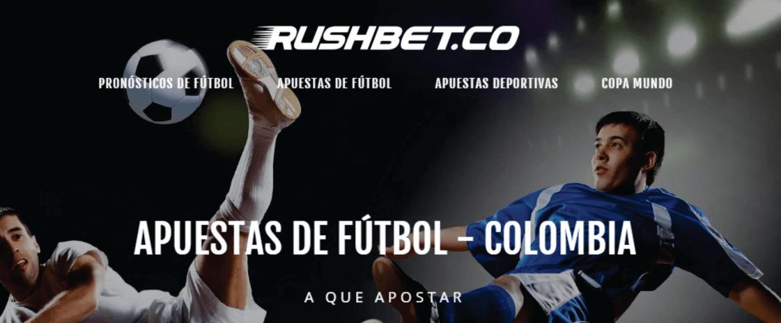 Código promocional Rushbet: ¡igualan tu primer depósito hasta en $20.000!