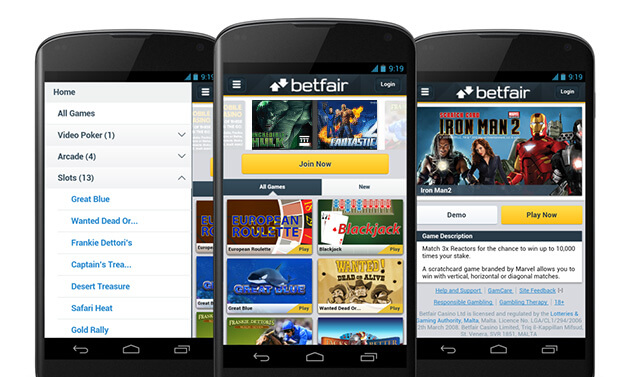 App Betfair Sportsbook