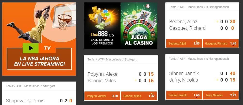 cuotas 888sport argentina