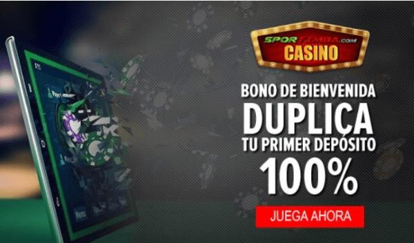 Sportimba Bono de Bienvenida Casino