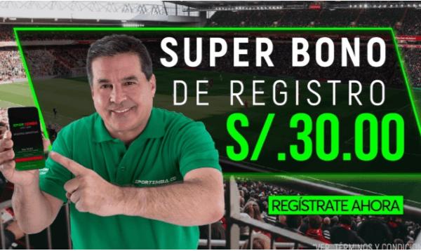 Sportimba Bono por Registro