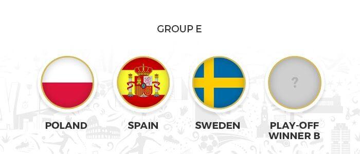 grupo e eurocopa 2020