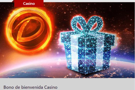 Dafabet Bono de Bienvenida Casino