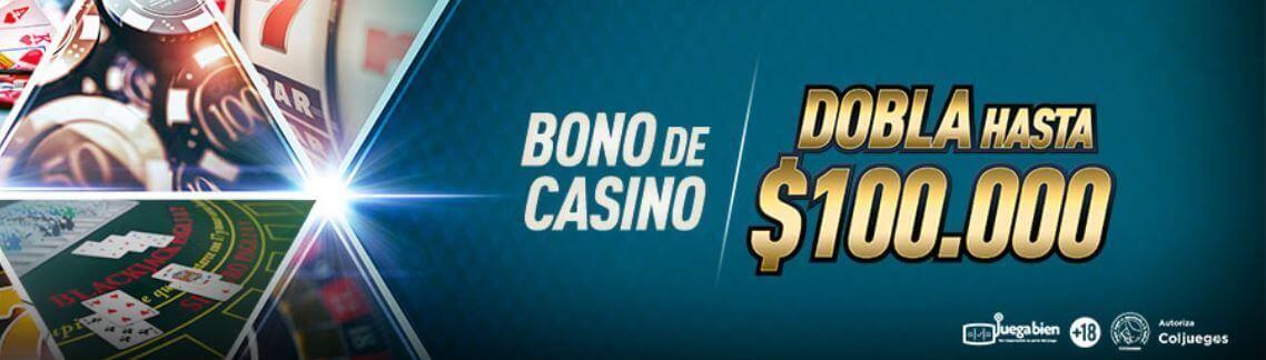 bono bienvenida Sportium Colombia casino