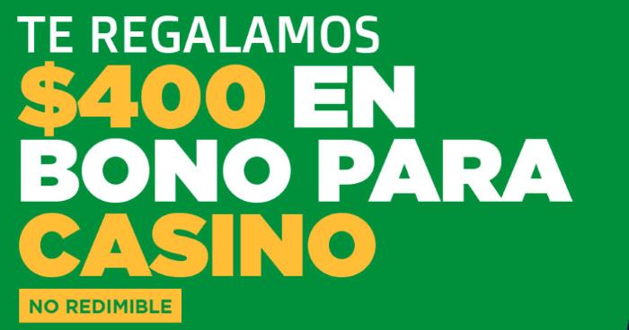 Ganabet Bono para Casino