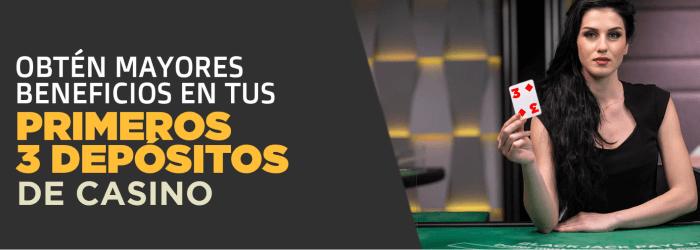 Ganabet Triada de Bonos Casino