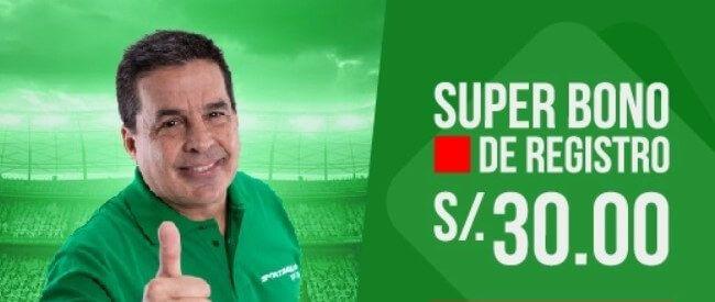 Sportimba Bono de Registro