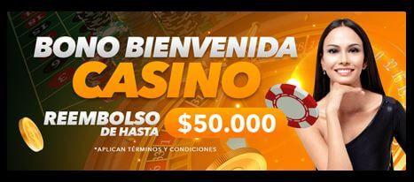 bono bienvenida casino colombia yajuego